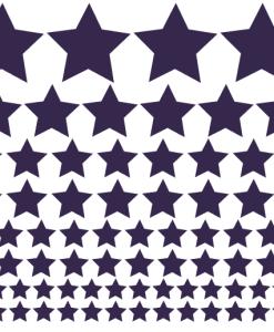 Preslikač Zvezdice različnih velikosti